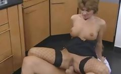 Busty Redhead German Mature Gets Anal