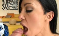 Milf is an amazing cock sucker