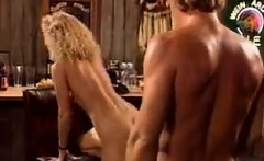 Blonde Chick Banged In The Bar