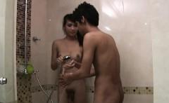 Asian Shemale Soapy Massage