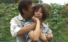 Chisato Shouda Asian mature chick gets