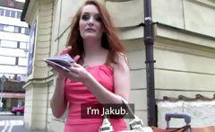 Ukrain girl fucked in public