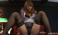 Japanese teenie shows her hot assets
