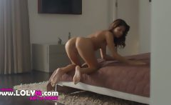 Exotic Model Rubbing Clit In Art Movie