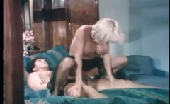 Busty blonde Kathy Willets takes on Peter North's big cock