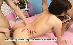 Aya Hirai hot girl naughty Chinese model gets pussy drilled